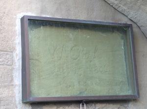 Clark's Engraved Signature