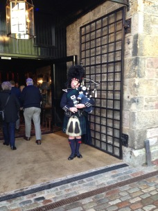 Our bagpipe serenade